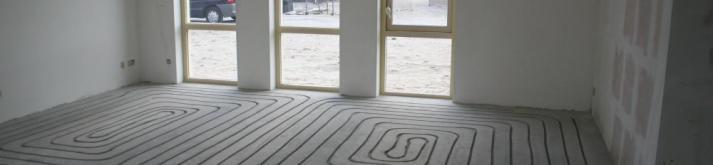 Haki-vloerverwarming -